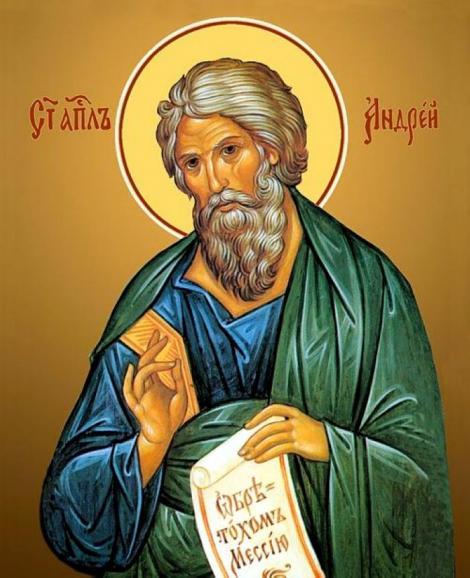 Calendar ortodox noiembrie. Cine a fost Sfântul Andrei și pe ce dată îl sărbătorim