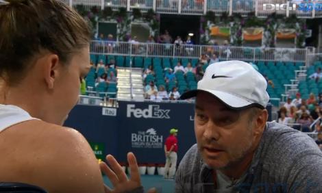 """Simona Halep s-a despărţit de antrenorul Daniel Dobre: """"Ne încheiem colaborarea cu un trofeu la Wimbledon şi o mare prietenie…"""""""
