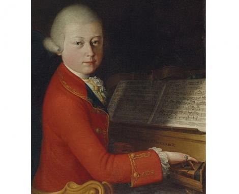 Un portret al lui Mozart la 13 ani, vândut pentru 4 milioane de euro