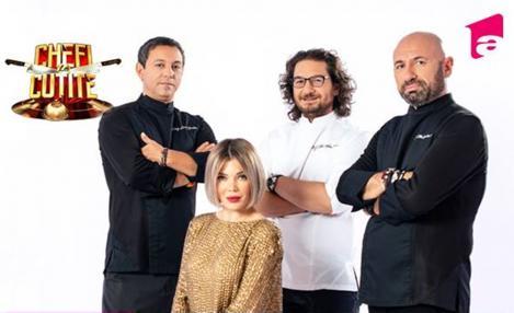 Retrospectiva Chefi la cutite la ceas aniversar Antena 1. Cum a evoluat emisiunea, imagini grăitoare și amintiri frumoase
