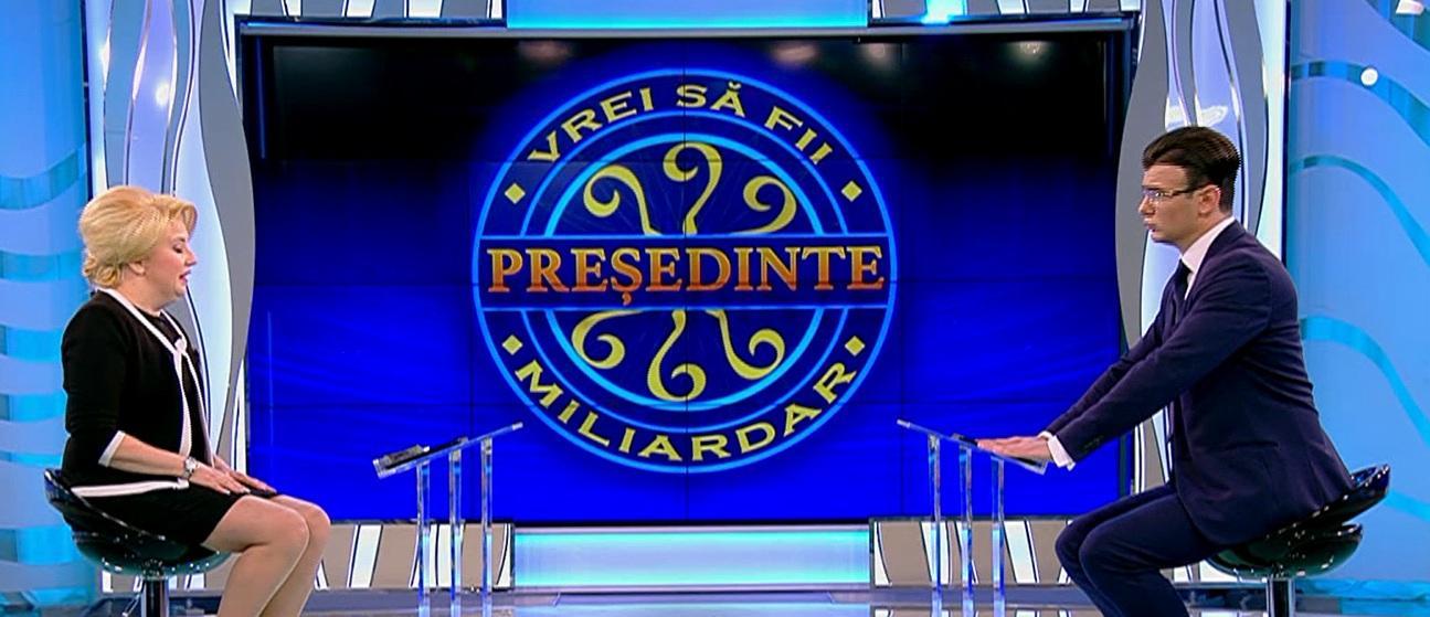 """""""Vrei să fii președinte?"""", emisiunea care va ține oamenii cu sufletul la gură diseară, de la 20.00, la Antitalent, la Antena 1"""