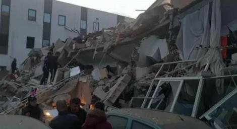 Operaţiunile de salvare după cutremurul din Albania s-au încheiat. Bilanţul seismului: 51 de morţi, aproximativ 2000 de răniţi