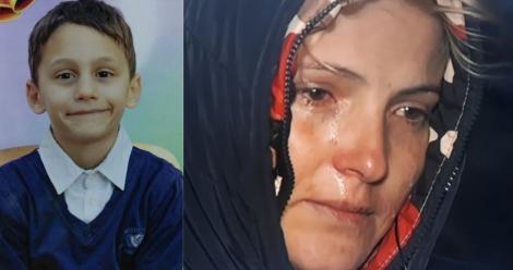 """Mama lui Iulian Alexandru plânge fără oprire după băiețelul ei de opt ani, dispărut de acasă: """"Să nu-și bată joc de el, îl tot strig și nu mă aude"""""""