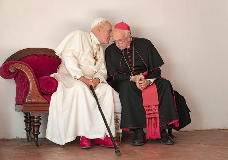 """Trailerul lungmetrajului """"The Two Popes"""", cu Anthony Hopkins şi Jonathan Pryce, lansat"""