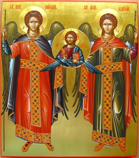 Sfinții Mihail și Gavril 2019. Când pică și ce nume se sărbătoresc