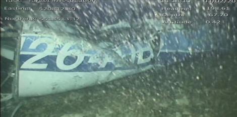 Epava avionului în care a decedat Emiliano Sala nu mai poate fi recuperată