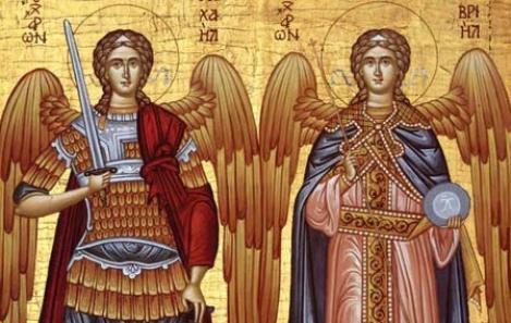Creştinii îi sărbătoresc, vineri, pe Sfinţii Arhangheli Mihail şi Gavril