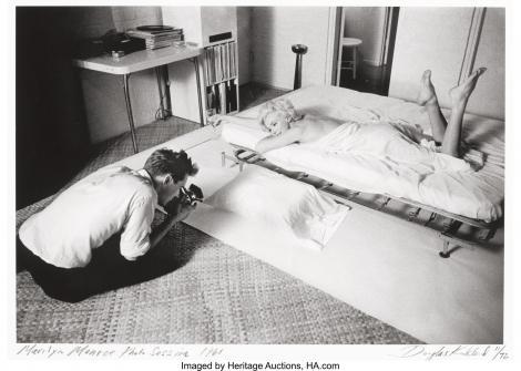Cele mai senzuale fotografii ale lui Marilyn Monroe urmează să fie scoase la licitație - FOTO