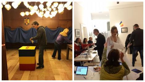 Alegeri Prezidențiale 2019. A doua zi de vot pentru diaspora! Câți români din străinătate și-au ales președintele. Un mire și o mireasă, la urne!