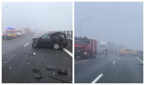 Accident pe Autostrada Transilvania, sâmbătă dimineață! Un copil a fost rănit! Imagini tulburătoare! Video