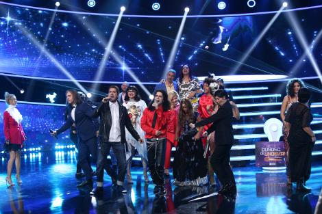 """Spectacol la """"Te cunosc de undeva!"""". Liviu Vârciu și Andrei Ștefănescu au cântat """"Alin, Alin"""" și s-a râs cu lacrimi! Bella Santiago a uimit, iar Șerban Copoț și Cezar Ouatu au fost Michael Jackson și Justin Timberlake"""