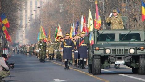 Parada de 1 Decembrie 2019. Armata Română, spectacol impresionant la Arcul de Triumf. La multi ani, România!