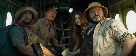 """""""Jumanji: Nivelul următor"""", încasări de peste 2,2 milioane de lei în primul weekend în cinematografele româneşti"""