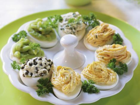 Rețete de ouă umplute de Revelion care îți vor impresiona musafirii
