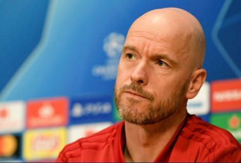 Antrenorul Erik ten Hag, după eliminarea echipei Ajax din Liga Campionilor: O decepţie. În fotbal nu obţinem mereu ceea ce merităm