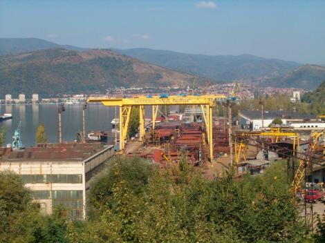 Şantierul Naval Orşova va construi trei nave fluviale pe care le va livra în Olanda, contract de 7,38 milioane euro
