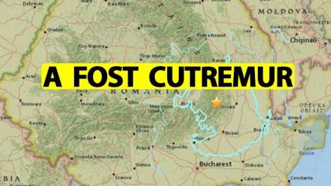 Cutremur în România, joi dimineață. Este al doilea seism produs în doar câteva ore