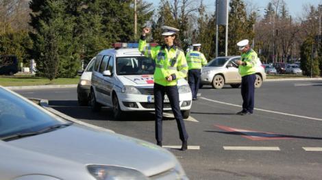 Poliţia română va face controale în trafic în luna decembrie, până la Crăciun. Amenzile sunt usturătoare!