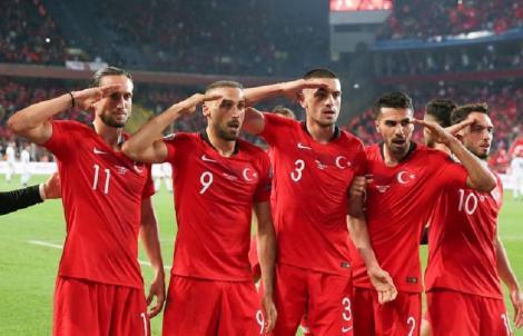 Turcia nu a fost sancţionată de UEFA pentru salutul militar de la meciurile cu Franţa şi Albania