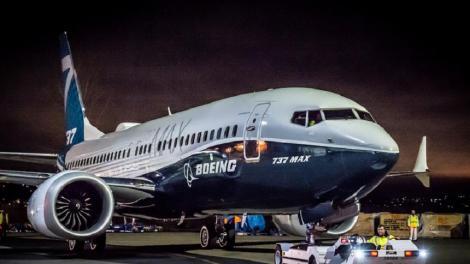 Boeing va suspenda producţia avioanelor 737 Max începând din luna ianuarie