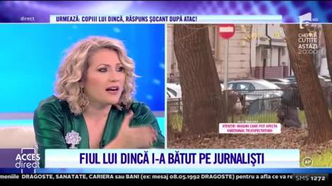 Scene șocant! Fiul lui Gheorghe Dincă a bătut mai mulți jurnaliști! Echipa Acces Direct a fost amendată cu 10.000 de lei la cererea familie Dincă!