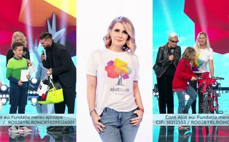 Monica Anghel şi Dorian Popa s-au alãturat campaniei Ajut Eu!