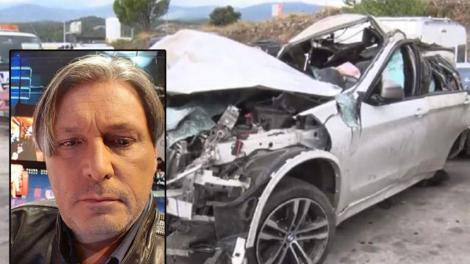 """Ultimele imagini cu Cornel Galeș. Ce a făcut văduvul Ilenei Ciuculete înainte de tragicul accident: """"Voi afla detalii de la poliție"""""""