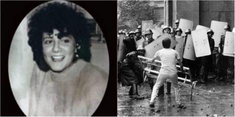 """""""Fata cu cizme albe mi-a murit în brațe"""" - Pe Diana au împușcat-o în cap, au târât-o pe asfalt și au încercat s-o ascundă. Avea 17 ani când a devenit o eroină"""