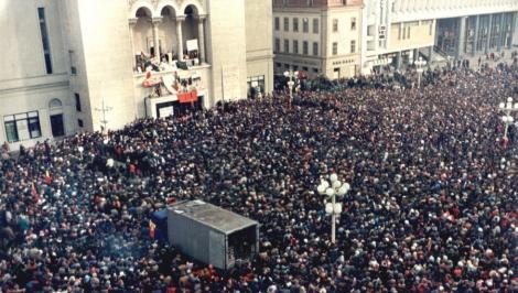 Sirenele antiaeriene au sunat la Timișoara! Moment cutremurător, la 30 de ani de la Revoluția din decembrie 1989