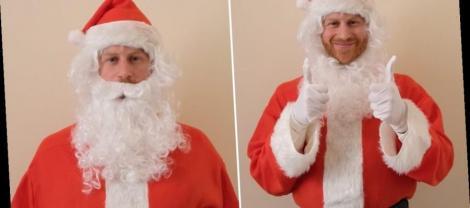 """Prințul Harry s-a îmbrăcat în Moș Crăciun pentru a transmite un mesaj emoționant: """"Da, pierderea unui părinte este incredibil de grea"""""""