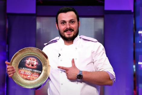 A anunțat! Ce va face Alexandru Comerzan, câștigătorul sezonului 7 Chefi la cuțite, cu cei 30.000 de euro