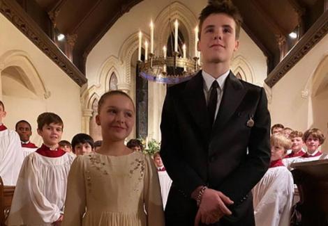 Cruz şi Harper Beckham, botezaţi de cântăreţul Marc Anthony şi actriţa Eva Longoria
