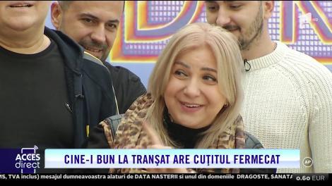 VIDEO/ Tranșatul porcului, la Acces Direct! Maria Constantin, AS în tăiatul cărnii