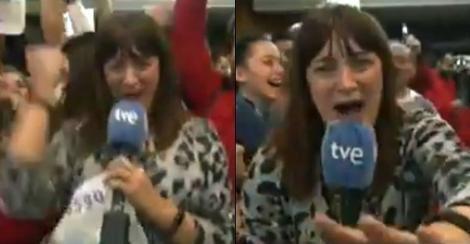 """Momentul în care un reporter află că a câștigat la loterie și își dă demisia în direct: """"Mâine nu mai vin!"""" Ce a urmat"""
