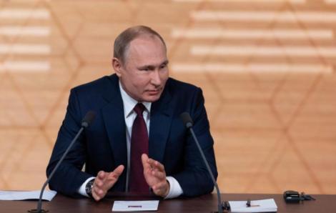 Putin: Rusia are un vas necesar pentru construcţia Nord Stream 2, a cărui finalizare va mai dura câteva luni din cauza sancţiunilor