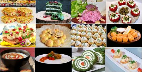 Rețete de aperitive pentru mesele festive. Idei de aperitive pentru un platou bogat și frumos colorat