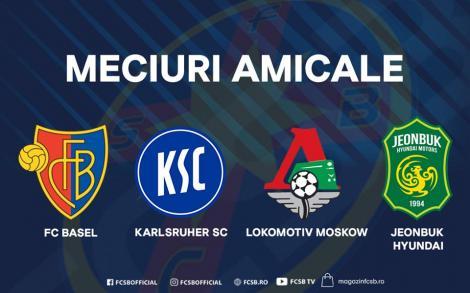 FCSB se reuneşte la 7 ianuarie şi va efectua un cantonament la Marbella; În cantonament sunt prevăzute patru meciuri amicale