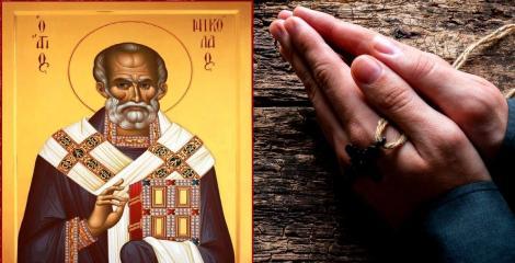 Rugăciune către Sfântul Nicolae. Rostește-o AZI pentru a avea parte de sănătate și ajutor