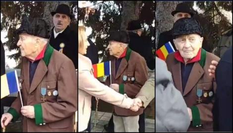 """Interviu cutremurător cu eroul veteran, de 101 ani, lăsat cu mâna întinsă la parada de 1 Decembrie: """"Mă evitau. Dar n-am putut să nu mă duc"""""""