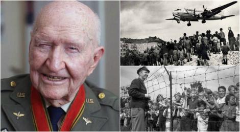 """Omul care a făcut să plouă cu dulciuri. 23 de tone i-au salvat pe copiii pe care comuniștii îi voiau morți: """"Voi flutura din aripi. Așa o să știți că sunt eu"""""""