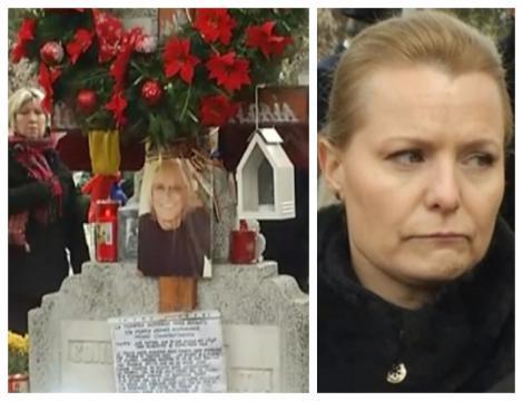 Familia lui Mihai Constantinescu a organizat parastasul de 40 de zile. Simona Secrier, împietrită de durere