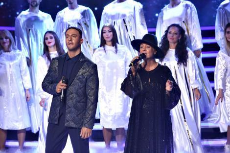 Un cuplu magistral, o interpretare de excepție! Alex și Monica Anghel se transformă în John Legend & Alicia Keys