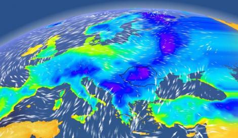 Un nou val de aer polar ajunge în România. Vom avea ninsori puternice și temperaturi de -15 grade Celsius