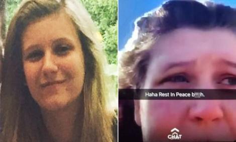 """O adolescentă de 16 ani și-a postat ultimele clipe din viață pe Snapchat. Cu lacrimi în ochi, se întreba dacă să se sinucidă sau nu: """"A fost împinsă să se sinucidă! E vina lor!"""""""