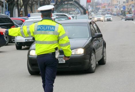 A fost razie în Capitală! Oamenii legii au reținut permise și au dat amenzi uriașe. Anunțul Poliției Rutiere