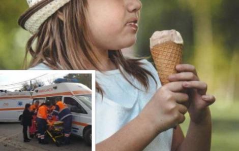 Caz șocant! O fetiță de 9 ani a murit  după ce a mâncat o înghețată. Ce s-a întâmplat