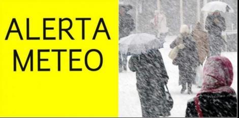 Avertizări meteo 26 februarie. Cod galben de vreme rea - viscol puternic la munte