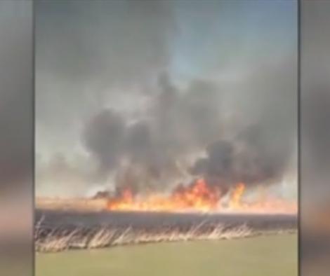 Incendiu cumplit! Sute de persoane, în pericol! Ce declarație șocantă a făcut primarul