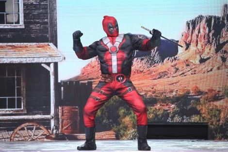 """Deadpool, tu ești?! Nea Mărin a luat personajul la palme! """"Să fie oare băiatul meu?"""""""