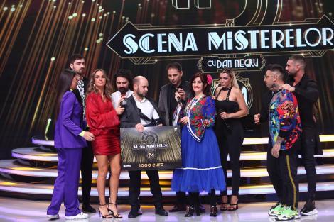 """Pepe, Antonia, Diana Munteanu, Liviu Teodorescu și Cosmin Seleși au câștigat prima ediție a emisiunii """"Scena misterelor"""""""